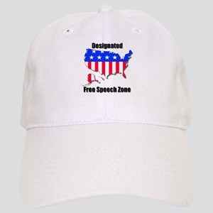 Designated Free Speech Zone Baseball Cap