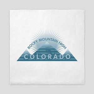 Colorado - Rocky Mountain High Queen Duvet