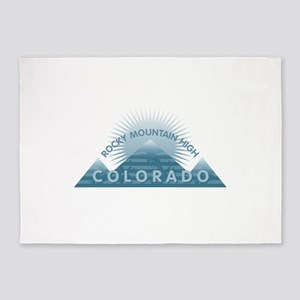 Colorado - Rocky Mountain High 5'x7'Area Rug
