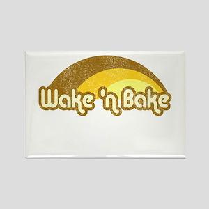 Wake 'n Bake Rectangle Magnet