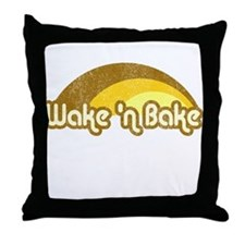 Wake 'n Bake Throw Pillow
