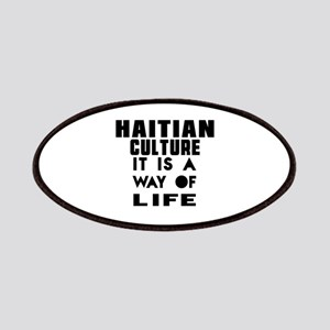 Haitian Culture It Is A Way Of Life Patch