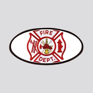 Fire Department Maltese Cross Patch