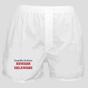 Trust Me, I'm from Newark Delaware Boxer Shorts
