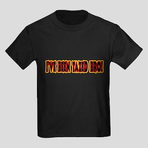 I've Been Tazed Bro! Kids Dark T-Shirt