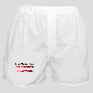 Trust Me, I'm from Bellefonte Delawar Boxer Shorts