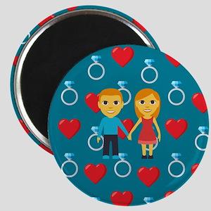 Emoji Engaged Magnet
