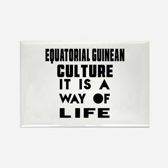 Equatorial Guinean Culture It Is Rectangle Magnet