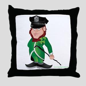 Paddy Cop 2 Throw Pillow