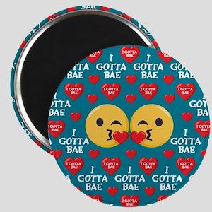 Emoji I Gotta Bae Magnet