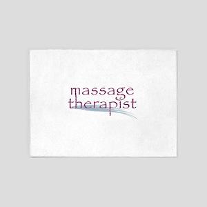Massage Therapist 5'x7'Area Rug