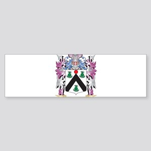 Christal Coat of Arms (Family Crest Bumper Sticker