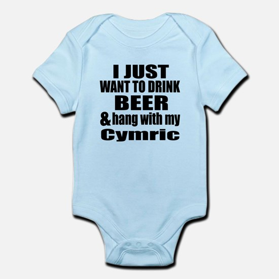 Hang With My Cymric Infant Bodysuit