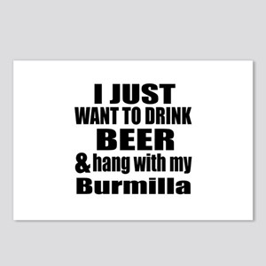 Hang With My Burmilla Postcards (Package of 8)