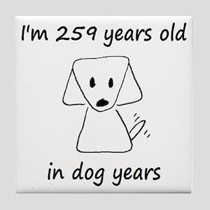 37 Dog Years 6-2 Tile Coaster
