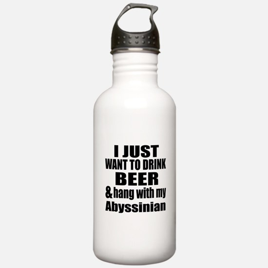 Hang With My Abyssinia Water Bottle