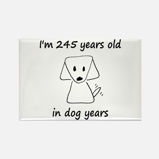 35 Dog Years 6-2 Magnets
