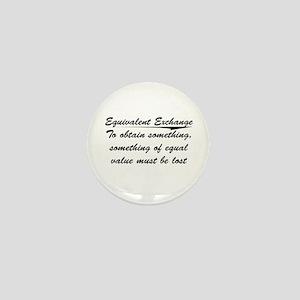 Equivalent Exchange Mini Button