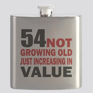 54 Not Growing Old Flask