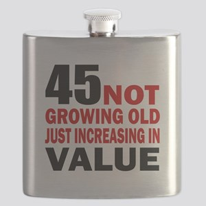 45 Not Growing Old Flask
