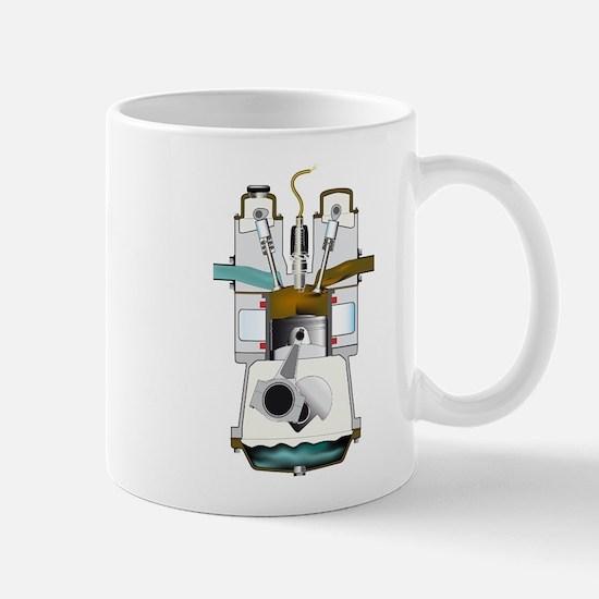 Exhaust Stroke Mugs