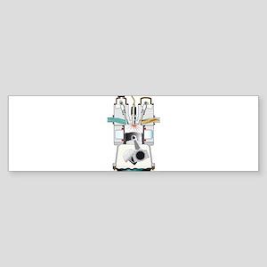 Ignition Stroke Bumper Sticker
