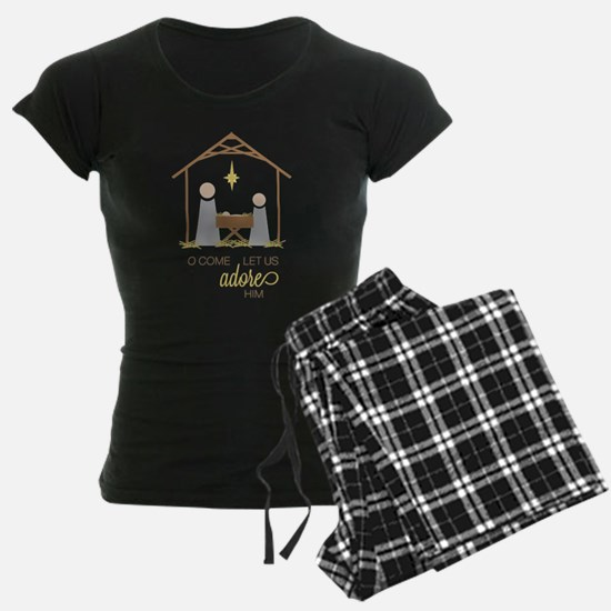 Let Us Adore Him Pajamas