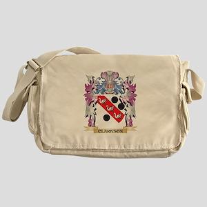 Clarkson Coat of Arms (Family Crest) Messenger Bag