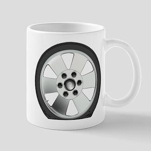 Flat Tyre Mugs