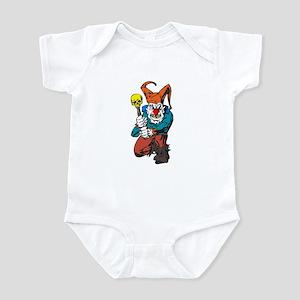Evil Clown with Skull Club Infant Bodysuit