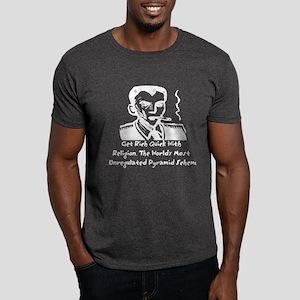 Religion Pyramid Scheme Dark T-Shirt