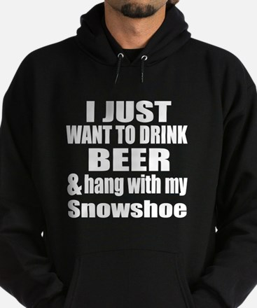 Hang With My Snowshoe Hoodie (dark)