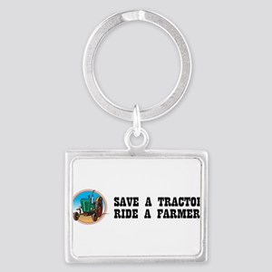 Save a Tractor Keychains