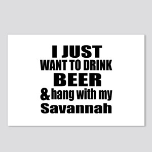 Hang With My Savannah Postcards (Package of 8)