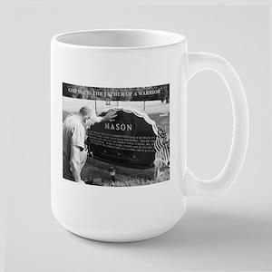 Cpl Chris Mason Large Mug