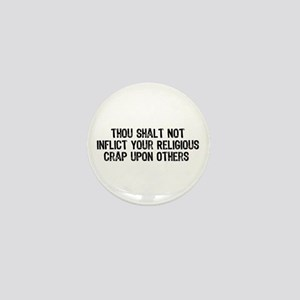 Anti-Religious Mini Button