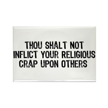 Anti-Religious Rectangle Magnet (100 pack)