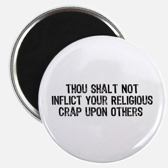 """Anti-Religious 2.25"""" Magnet (100 pack)"""