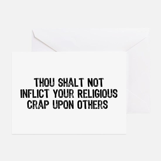 Anti-Religious Greeting Cards (Pk of 10)