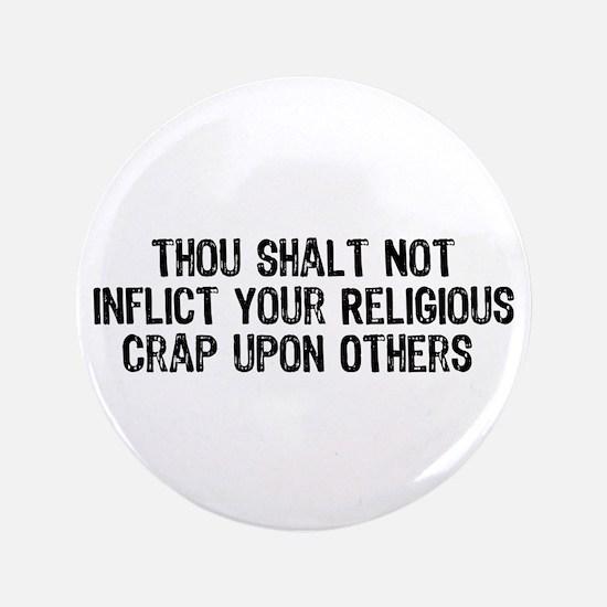 """Anti-Religious 3.5"""" Button"""