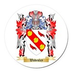 Wadesley Round Car Magnet