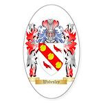 Wadesley Sticker (Oval 50 pk)