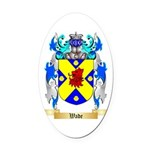 Wade Oval Car Magnet