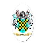 Waddell Oval Car Magnet