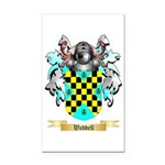 Waddell Rectangle Car Magnet