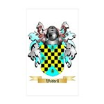 Waddell Sticker (Rectangle 50 pk)