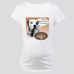 Dalmatian Turkey Maternity T-Shirt