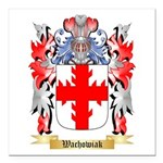 Wachowiak Square Car Magnet 3