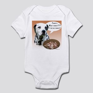 Dalmatian Turkey Infant Bodysuit