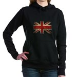 UK Flag Women's Hooded Sweatshirt